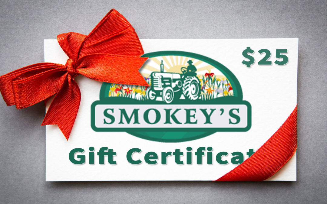 Submit Your Pictures & Earn Smokey's Gift Certificates